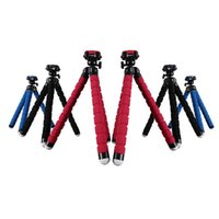 Wholesale Tripod Legs For Monopod - Wholesale-Flexible Tripod for Phone Smart Phone Holder phone accessories Leg Bracket phone Tripod Stand Mount Monopod for HTC for Xiaomi