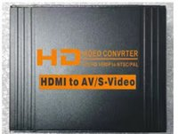 20set / lot * AV / S-Video PARA HDMI PARA AV / S Conversor de Vídeo HDMI para CVBS RCA / S VIDEO + S VIDEO Adaptador Switcher 1080P HD HDCP