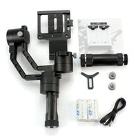Wholesale Dslr Camera Cranes - 2017 NEWEST Zhiyun Crane V2 3-axis Handheld Stabilizer Gimbal for DSLR Canon Sony Camera Support 1.8KG