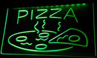 açık kafe işaretleri toptan satış-LS093-g AÇIK Sıcak Pizza cafe Restaurant Neon Işık İşaretler