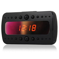 Wholesale Night Vision Camera 3g - Mini Alarm Clock Camera For Home Security Cam With IR Night Vision Support 3G 4G Wifi Conection By Smartphone Remote Control