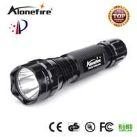 lanterna led usa venda por atacado-EUA EU Hot Sel WF-501B 5 Modelo Cree XM-L T6 2000 Lumens LED Lanterna Tocha