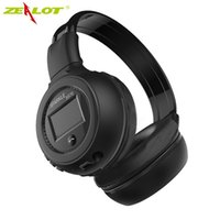 Gros-Casque Bluetooth Soutien TF Lecture / FM Radio Zealot B570 Wireless Stereo HiFi Over-Ear Casque pliable avec microphone