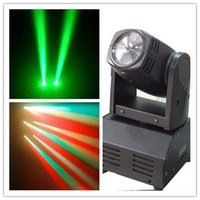 Wholesale Rgbw Led Moving Head Beam - DMX512 MINI CREE 10W QUAD RGBW 4 in 1 LED beam Moving Head club KTV party DISCO XMAS STAGE Light