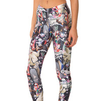 Wholesale Sexy Yoga Pants - New Arrival 3513 Sexy Girl Women Halloween Jack Skull The Nightmare Before Christmas 3D Prints Elastic Fitness Leggings Yoga Pants