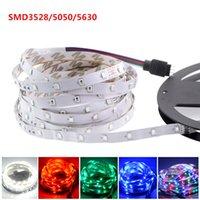 Wholesale Smd 3528 Led Strip Multicolor - LED strip SMD3528 5050 5630 12V 300 LED   5M Waterproof IP65 LED string lights multicolor LED 5M   roll