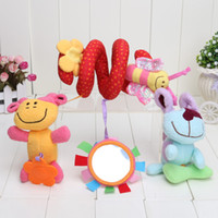 Wholesale Multicolor Bedding - Free shipping Elc brand multifunctional baby bed hanging car hanging newborn baby kids toys plush toys