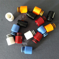 Wholesale Cheapest Rda - 510 ABS Drip Tips Wide Bore plastic Drip Tip Fit RDA RTA Atomizers cheapest acrylic mouthpieces