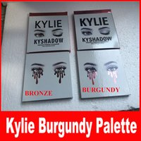 Wholesale Eye Shadow Eyeshadow Palette - THE BURGUNDY PALETTE | KYSHADOW Kylie Jenner Newest Kyshadow Eyeshadow Of Your Dreams Makeup Eye Shadow free shipping
