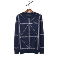 Wholesale Blue Logo Sweater - Wholesale-2016 winter polo O-Neck Brand ralp men Casual Knit Jumpers Sweaters Mens Pullovers Sweater small horse Logo sweaters sudaderas