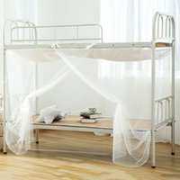 Wholesale Door Canopies - 1.8M Mosquito Net Bed Nets Mosquitoes Curtain Square Shape Mosquito Net Double Bed Canopy Netting Insect Protection For Home
