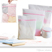 Wholesale Lingerie Wash Bags Wholesale - Factory Price!! 30*40CM Washing Machine Specialized Underwear Washing Lingerie Bag Mesh Bag Bra Washing Care Laundry Bag in Best quality