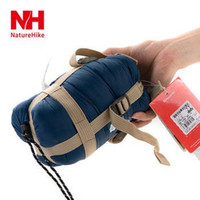 Wholesale Goose Camps - NH portable mini sleeping bag outdoor camping travel envelop cotton 0.7kg