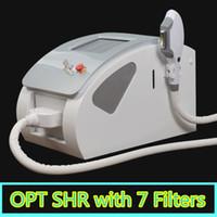 Wholesale New Products China - ipl shr machine SHR IPL Reduction of Pigmented Lesions IPL Laser hair removal Machine New Products on China Market