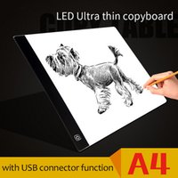 DROPSHIPPING Ultra Thin Pratical A4 LED Drawing Board Анимация Копирование Трассировка Pad Board LED Light Box Рисунок Tablet Kid Toy
