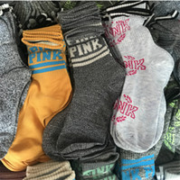 Wholesale Socks For Women Winter - VS Pink Letter women Socks Casual Sports long socks free size cotton crew socks autumn winter stockings for women lady girls