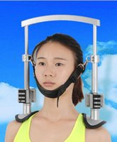 Wholesale Cervical Air Neck Traction - Wholesale-Cervical traction apparatus household neck fixed tension hanging air pillow Cervical holder support the neck