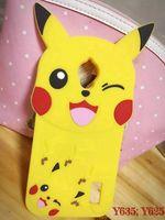 Wholesale 3d Case For Galaxy Ace - 3D Poke Pikachu Soft Gel Case For Samsung Galaxy J2 J3 J5 J7 J1 ACE Grand Prime Huawei P8 P9 Lite Y635 MOTO G3 G4 Plus Cartoon Phone Cover