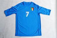 Wholesale Italy World Cup Jerseys - Retro jerseys 2002 02 World cup Italy home blue Del Piero  Totti  Cannavaro  Vieri   Maldini jersey shirt
