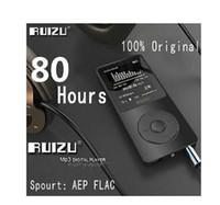 Wholesale E Reader Screen Black - 100% original Ultrathin 8GB MP3 Player With 1.8 Inch Screen Can Play 80 hours,Original RUIZU X02 With FM,E-Book,Clock,Data