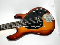 Wholesale Electric Bass Music Man - Bass Guitars Honey Burst Music Man StingRay 5 Electric Bass New Arrival Wholesale HOT