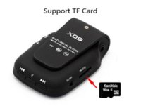 Wholesale Mini Clip Mp3 4gb - New 2016 New sport Clip mini Original RUIZU X09 MP3 Player 4GB storage 1.5 Inch Screen With FM,E-Book,Clock,Data
