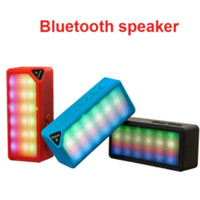 UK flash led china - New Mini X3S Bluetooth Speaker TF FM Radio Built in Mic Handsfree MP3 Subwoofer LED Flash Light #79996