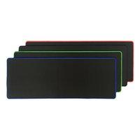 ingrosso stuoia verde del mouse-Tappetino per mouse grande Rakoon 30 * 80CM Gaming Tappetino per mouse in gomma nero con bordo nero / rosso / blu / nero / verde per PC Laptop