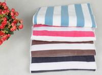 fleece-stoff für baby-decken großhandel-Haustier Hund Decke Fleece Stoff Welpen Baby Katze Weiche Decken Werfen Komfortabel für Schlafmatte Couch Sofa Doggy Warme Bett