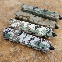 Wholesale edc beetle knife online - Technology Classic Knife Beetle Army Camouflage series double front blade inch double front edge c blade Camping Tactics