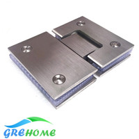 Wholesale High Quality Degrees open Stainless Steel Wall Mount Glass Shower Door Hinge