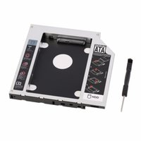 ssd dizüstü bilgisayar sabit disk toptan satış-Yeni Sabit Disk Caddy Seri ATA Sabit Disk Disk HDD SSD Adaptörü Caddy Tepsi PC Dizüstü Bilgisayar için
