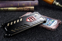 Wholesale Aluminum Steel Iphone Case - 2016 New Luxury Superman Style Metal Case Cover Light Aluminum steel Alloy Protection case For iphone 6 6s 4.7 inch Free shipping