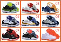 Wholesale Cheap Gum - wholesale air retro 11 low bred concords georgetown navy gum Closing Ceremony 11s men momen basketball shoes cheap sports shoes sneakers