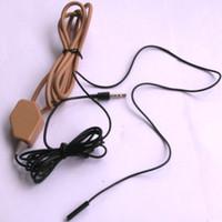 Wholesale Earbud Spy - High Quality Full sets covert spy wireless Earpiece With Loopset Neckloop 2x batteries GSM Earphone Earbud External MIC