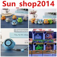 Wholesale Computer Dolls - 10pcs Cartoon Bluetooth Speaker Cartoon Doll Mini Bluetooth Stereo Subwoofer Support TF Card USB Disk for Computer Mobile Phone (6 colors)