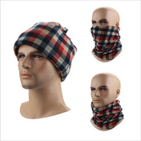 Wholesale Turban Magic Headband - Fashion Multifunctional Scarf Headband Outdoor Sports Turban Winter Warm Magic Scarves Cycling bandanas Velvet Cap YYA341