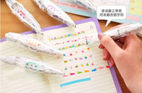 Wholesale Photo Album Free Ship - Free Shipping DIY Photo Album Decoration Rush Pen Correction Pen For Handmade Scrapbook