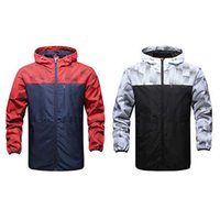Wholesale Long Casual Coat Styles - Wholesales New arrival style fashion monolayer sport coats male windcheater jackets windbreaker hooded movement male thin coat