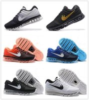 Wholesale Newest Sneakers Cheap - Cheap maxs 2017 Men running shoes Hot selling Original quality maxes 2017 KPU cushion sneaker for mens Newest release sneaker 36-45