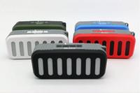 yüksek usb müzik çalar toptan satış-EN Kaliteli Bluetooth Hoparlör Kablosuz Stereo Taşınabilir Loud hoparlörler Bluetooth Boombox Süper Bas müzik çalar desteği USB / TF kart