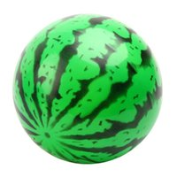 Wholesale toy bouncy balls online - Kids Inflatable Watermelon Ball Toy PVC Bouncy Ball Education Toys Gifts Child Baby Birthday Party Gifts