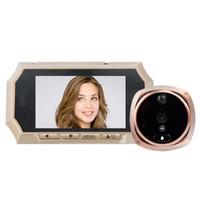 Wholesale Door Peephole Viewer Motion - 4.3inch digital door viewer IR Nightvision PIR Motion Sensor digital door peephole viewer Photos Taking Video Recording Max 32GB