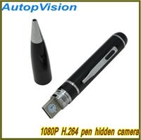 Wholesale Hidden Camera Hdmi - HD 1080P Motion Detetction HDMI Port with 8GB16GB32GB Memory Ball Pen Spy Camera Candid Hidden Camera Portable Security Covert Camcorder DV