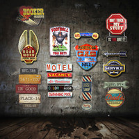 Wholesale Vintage Cafe Decor - Wholesale- Special Shade Vintage Tin Sign Plaque Bar Pub Cafe House Cafe Restaurant Signpost Wall Decor Retro Art Metal Poster