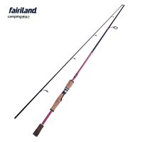 Wholesale Big Fishing Rods - Fairiland carbon fiber spinning fishing rod lure fishing pole 6' 6.6' 7' MH lure fish rod w  corkwood handle big game player
