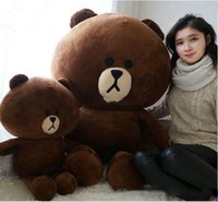 Forrest Animals giant stuffed animals - Hot Item Line Office cm Giant Stuffed Soft Plush Huge Cute Brown Bear
