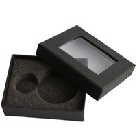 Wholesale Gray Pocket Watch - Wholesale-Pocket Watch Accessories Gray Velvet Christmas Gift Boxes Cases Free Shipping