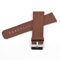 Wholesale Head Belt Buckle Sales - Hot Sale 24mm Watch Belt Stainless Steel Buckle Classic Head Layered Cow Leather Watch Band Luxury Free Shipping