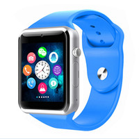 Wholesale Dial Silicone Watches - 2016 A1 Smart Watch Bluetooth DZ09 U8 GT08 Smartwatch iWatch Support SIM TF Card Smart Wrist Watches With Silicone Strap Smartphone